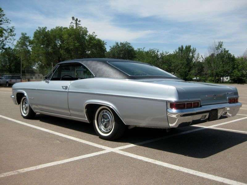 Chevrolet Impala 4th generation [restyling] coupe 6.5 Powerglide (1966–1966)