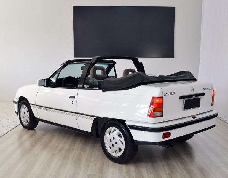 Chevrolet Kadett 1st generation Conversivel 2.0 MT convertible (1992–1994)