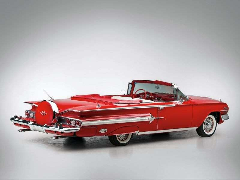 Chevrolet Impala 2nd generation [restyling] 4.6 Turboglide convertible (1960–1960)