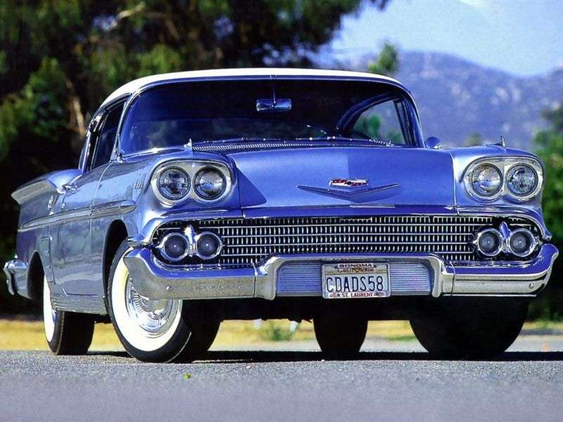 Chevrolet Impala 1st generation coupe 4.6 Turboglide (1958–1958)