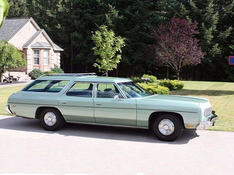 Chevrolet Impala 5th generation [2nd restyling] station wagon 6.6 Turbo Hydra Matic 3 seat (1973–1973)