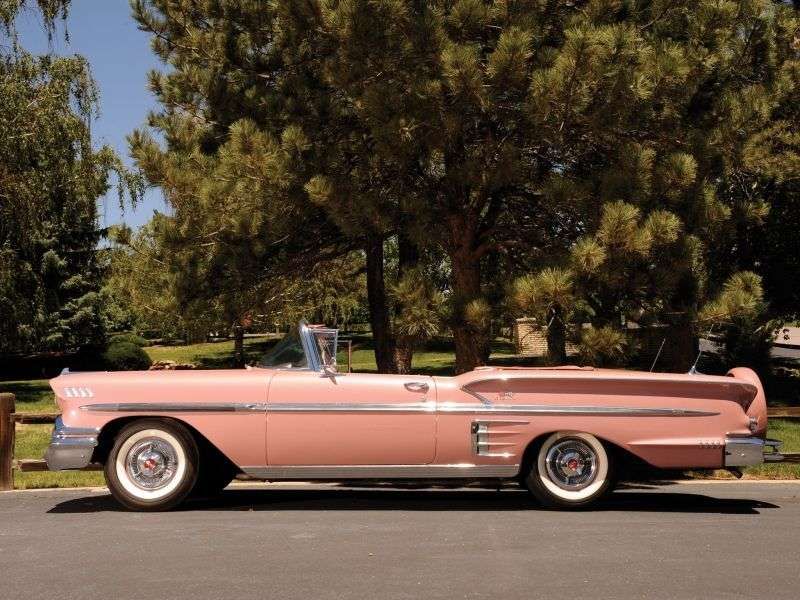 Chevrolet Impala 1st generation convertible 2 dv. 3.9 Powerglide (1958 1958)