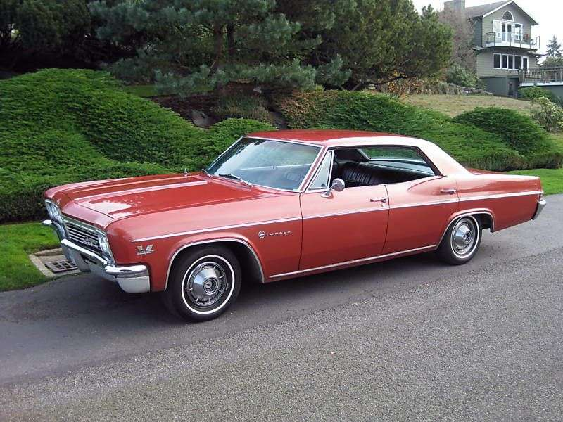 Chevrolet Impala 4th generation [restyling] hardtop 4.6 Powerglide (1966–1966)
