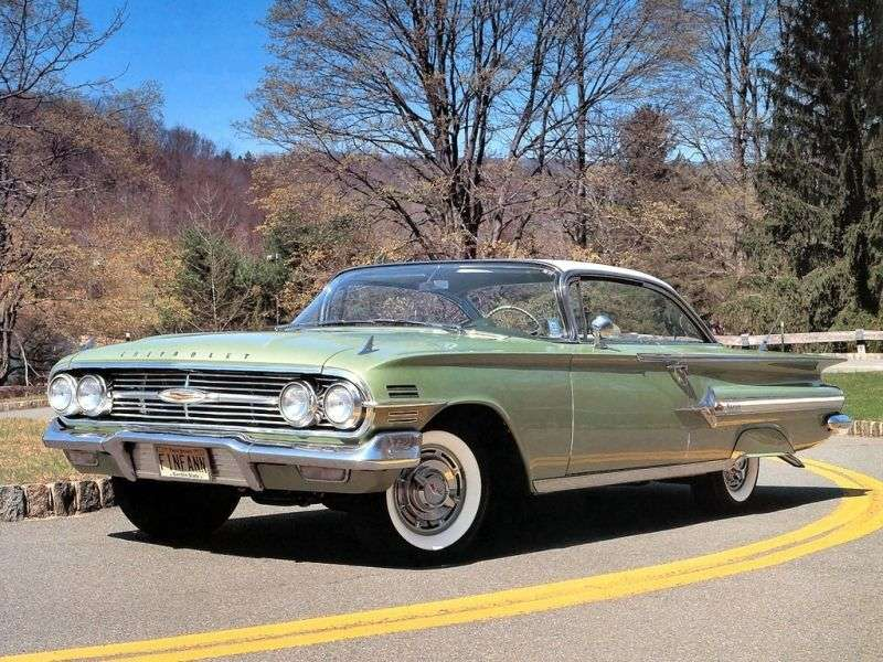 Chevrolet Impala 2nd generation [restyling] Sport Coupe 4.6 3MT Overdrive (1960–1960)