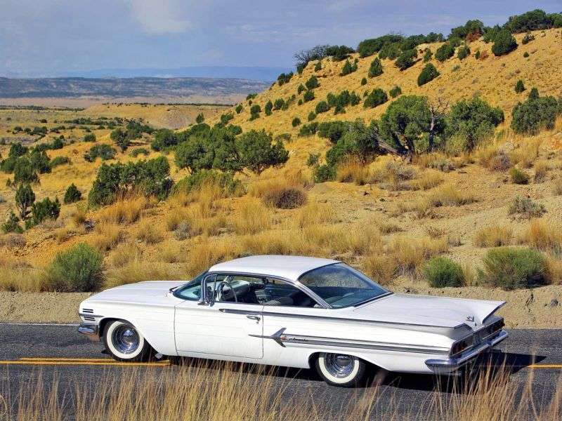 Chevrolet Impala 2nd generation [restyling] Sport Coupe 4.6 Turboglide (1960–1960)