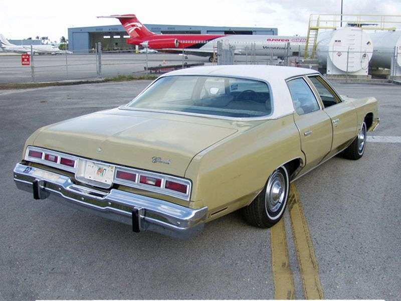 Chevrolet Impala 5th generation [3rd restyling] 6.6 Turbo Hydra Matic Sedan (1974–1974)