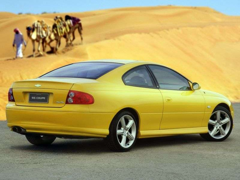 Chevrolet Lumina 3rd generation coupe 5.7 CV8 Z AT (2005–2006)