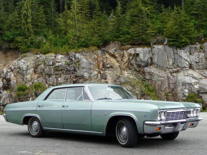 Chevrolet Impala 4th generation [restyling] hardtop 4.6 3MT (1966–1966)