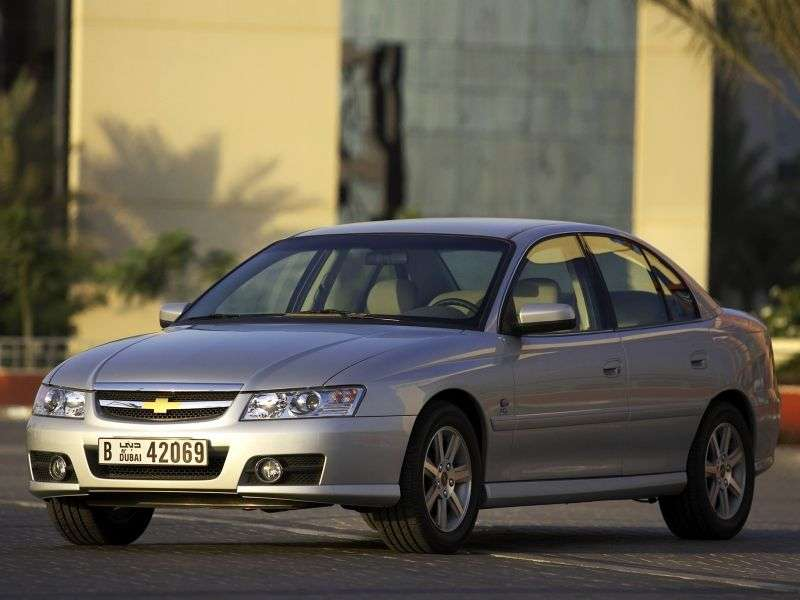 Chevrolet Lumina 3rd generation [restyling] sedan 3.6 AT (2004–2006)