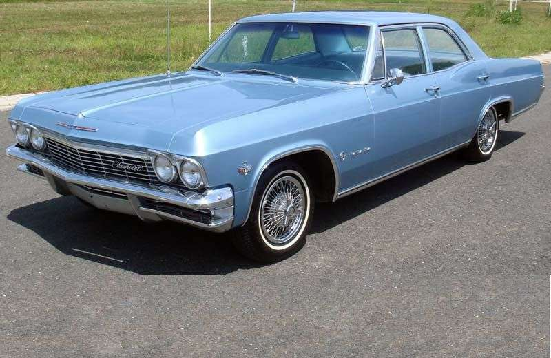 Chevrolet Impala 4th generation sedan 3.8 MT Overdrive (1965–1965)