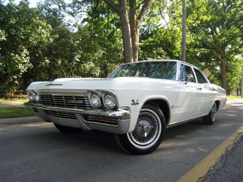 Chevrolet Impala 4th generation sedan 5.4 3MT (1965–1965)