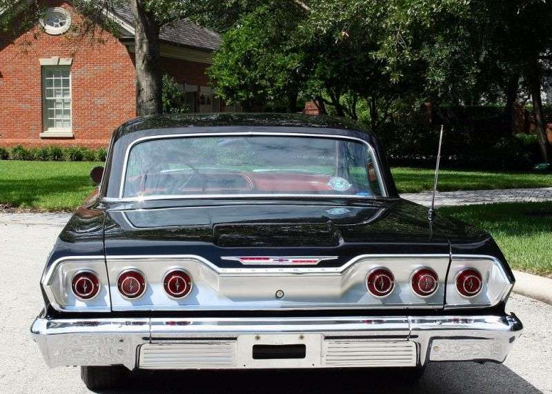 Chevrolet Impala 3rd generation [2nd restyling] coupe 6.7 Powerglide (1963–1963)