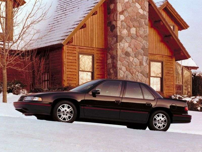 Chevrolet Lumina 1st generation sedan 3.1 3AT (1990–1990)