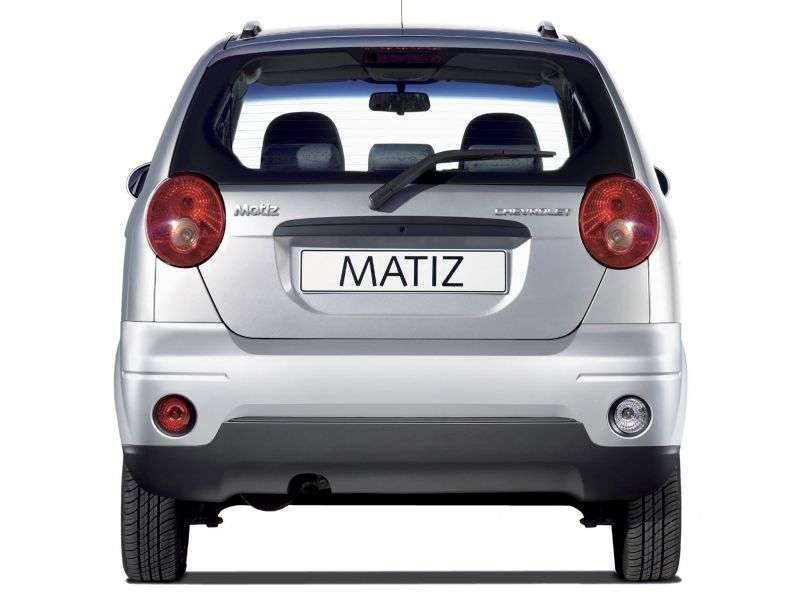 Chevrolet Matiz 2nd generation [restyling] hatchback 0.8 AT (2008–2010)