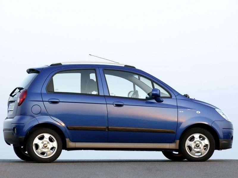 Chevrolet Matiz 2nd generation [restyling] hatchback 1.0 MT (2008–2010)