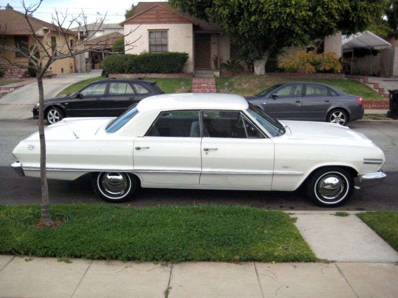Chevrolet Impala 3rd generation [2nd restyling] hardtop 5.4 3MT (1963–1963)