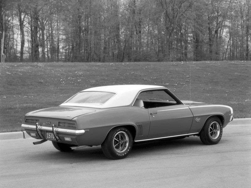 Chevrolet Camaro 1st generation [2nd restyling] RS coupe 2 dv. 6.5 MT (1969–1969)