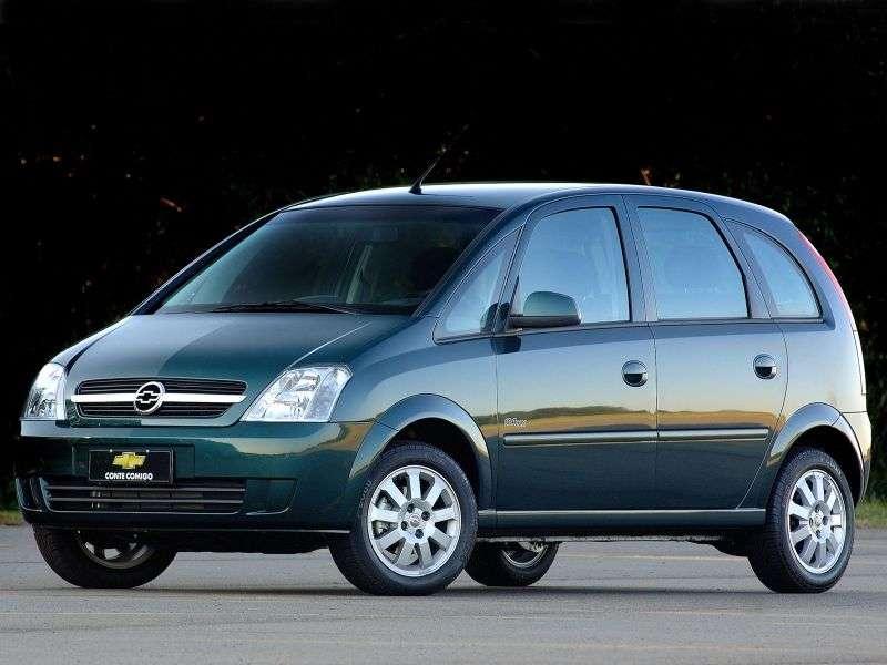 Chevrolet Meriva 1st generation minivan 1.8 Flexfuel Easytronic (2002–2008)