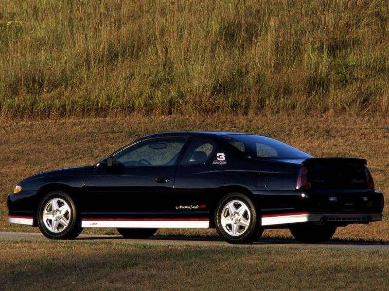 Chevrolet Monte Carlo 6th generation SS Dale Earnhardt Signature Edition coupe 3.8 AT (2002–2002)