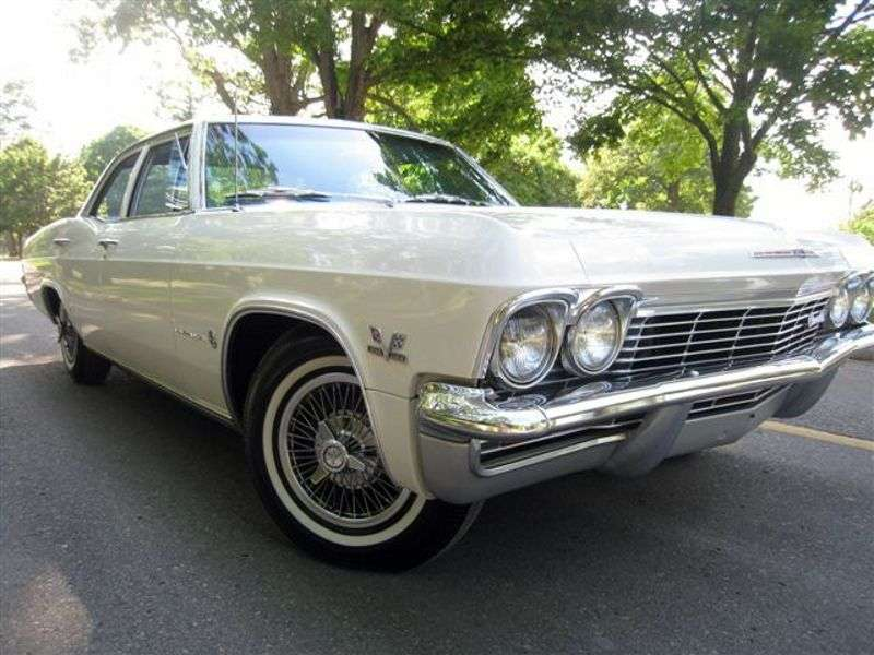 Chevrolet Impala 4th generation sedan 4.6 3MT (1965–1965)