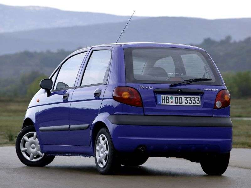 Chevrolet Matiz 1st generation hatchback 1.0 MT (2004–2005)