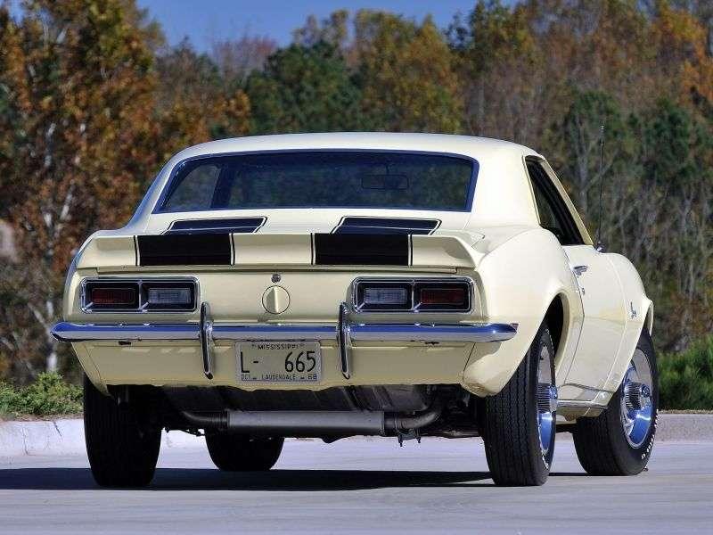 Chevrolet Camaro 1st generation [restyling] Z28 coupe 2 bit. 4.9 MT (1968–1968)