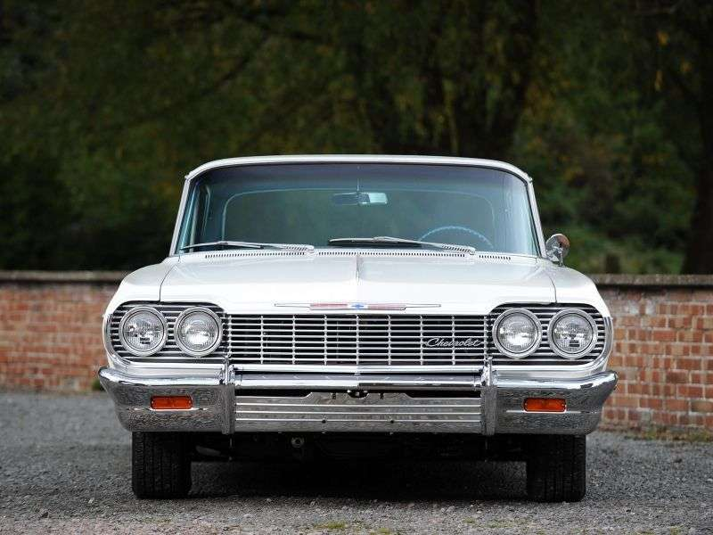 Chevrolet Impala 3rd generation [3rd restyling] coupe 5.4 4MT (1964–1964)