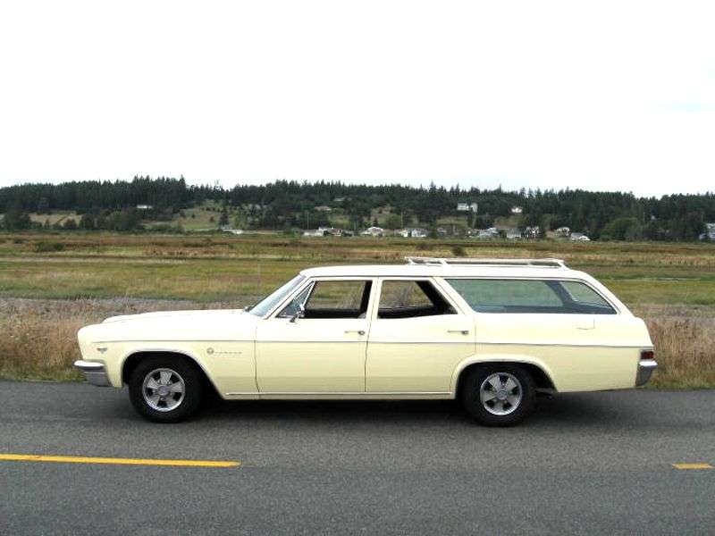 Chevrolet Impala 4th generation [restyling] station wagon 6.4 Powerglide 2 seat (1966–1966)