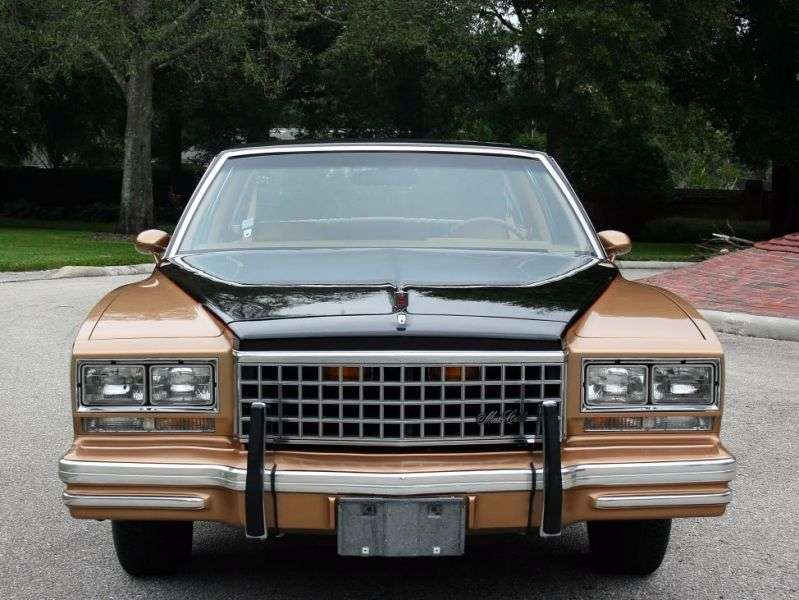 Chevrolet Monte Carlo 3rd generation [2nd restyling] coupe 3.8 AT (1980–1980)