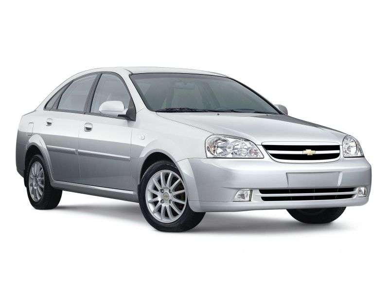 Chevrolet Optra 1st generation [restyling] 1.8 AT sedan (2004–2008)