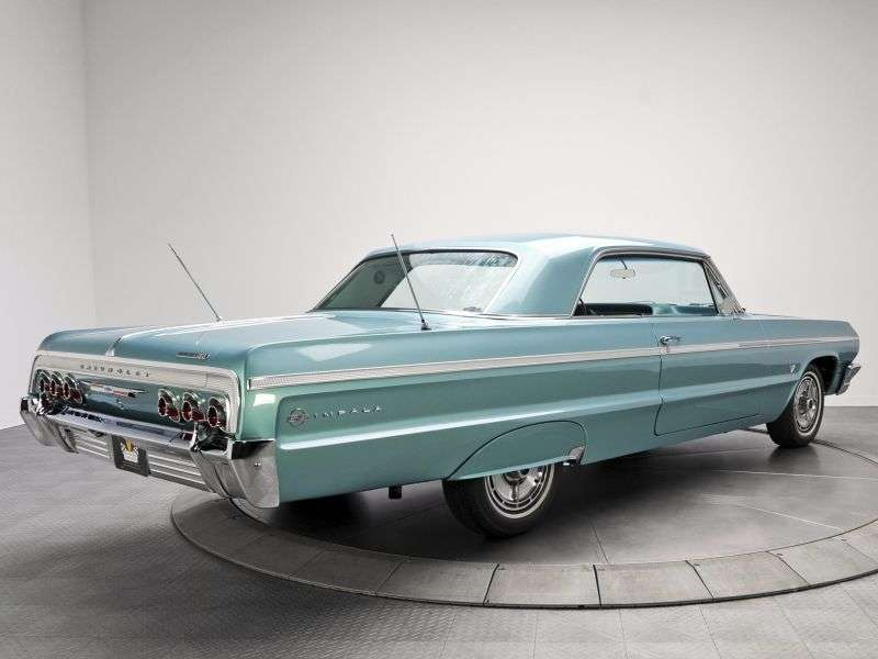 Chevrolet Impala 3rd generation [3rd restyling] coupe 4.6 Powerglide (1964–1964)