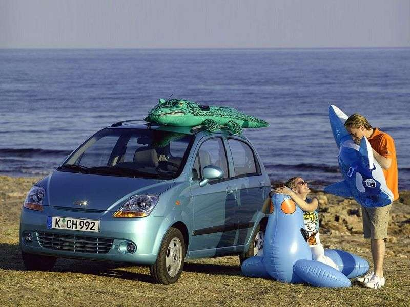 Chevrolet Matiz 2nd generation hatchback 0.8 MT (2005–2008)