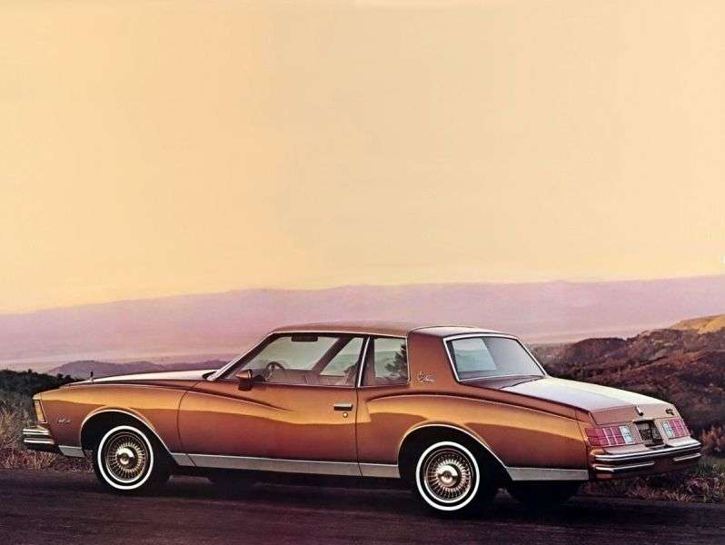 Chevrolet Monte Carlo 3rd generation [restyling] coupe 5.0 AT (1979–1979)