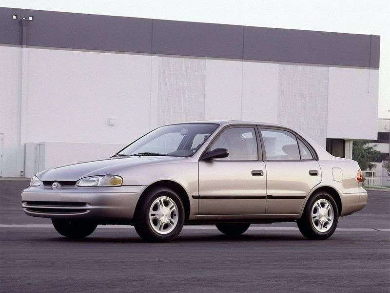 Chevrolet Prizm 1st generation 1.8 3AT sedan (2000–2002)