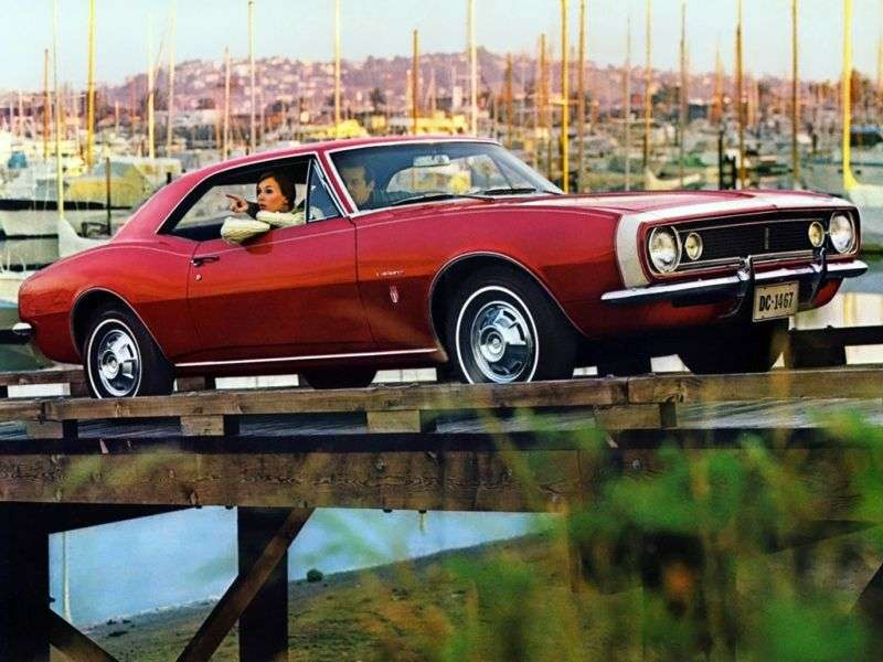 Chevrolet Camaro 1st generation coupe 5.4 3MT (1967–1967)
