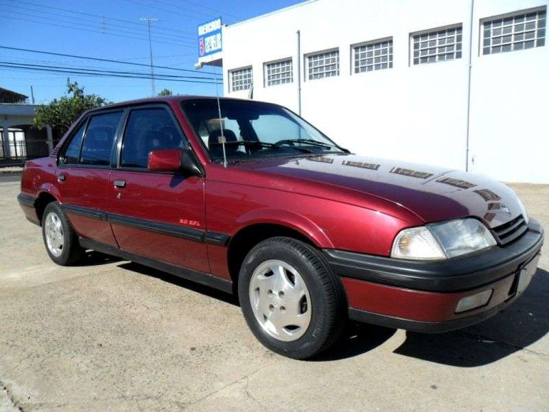 Chevrolet Monza 2nd generation [restyling] 4 door sedan 2.0 MT (1991–1996)