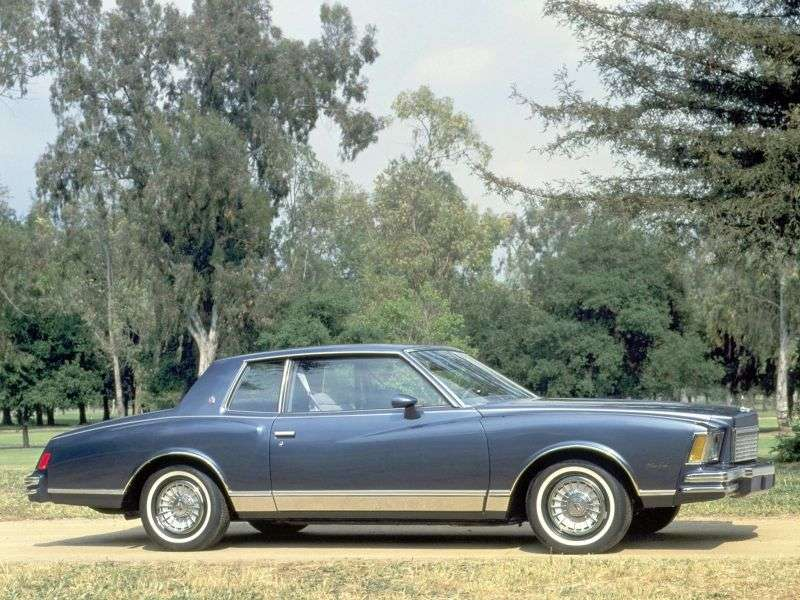 Chevrolet Monte Carlo 3rd generation coupe 5.0 MT (1978–1978)