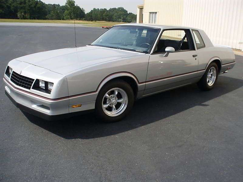 Chevrolet Monte Carlo 4th generation [2nd restyling] SS Coupe 5.0 Turbo Hydra Matic (1983–1983)
