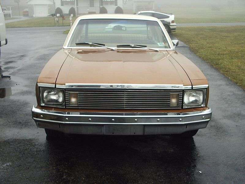 Chevrolet Nova 4th generation [4th restyling] sedan 5.0 MT (1979–1979)