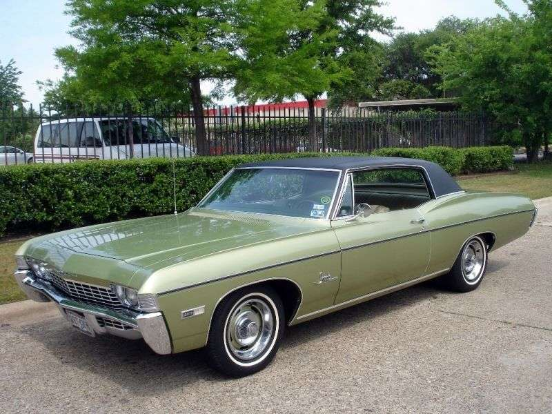 Chevrolet Impala 4th generation [3rd restyling] Custom Coupe 6.5 Powerglide (1968–1968)