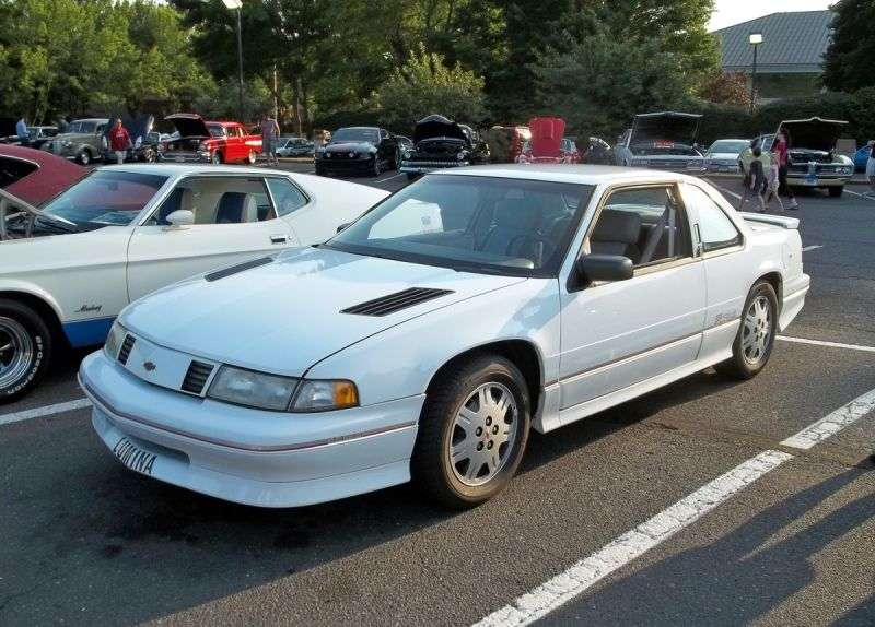 Chevrolet Lumina 1st generation coupe 3.1 3AT Euro (1991–1993)