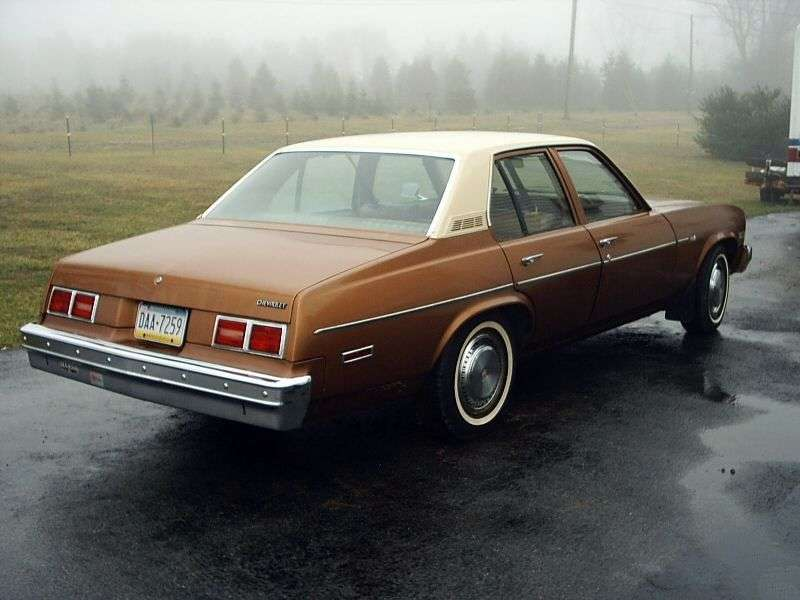 Chevrolet Nova 4th generation [4th restyling] sedan 4.1 AT (1979–1979)