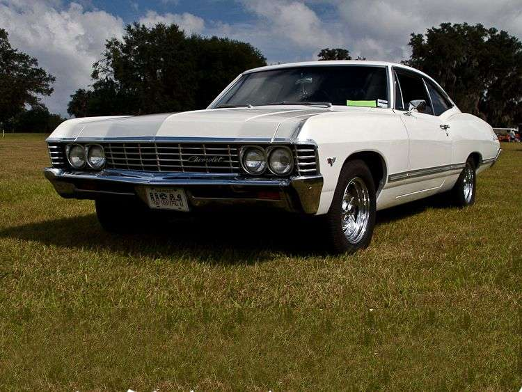 Chevrolet Impala 4th generation [2nd restyling] coupe 4.1 MT Overdrive (1967–1967)