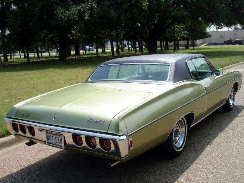 Chevrolet Impala 4th generation [3rd restyling] Custom Coupe 5.4 Powerglide (1968–1968)