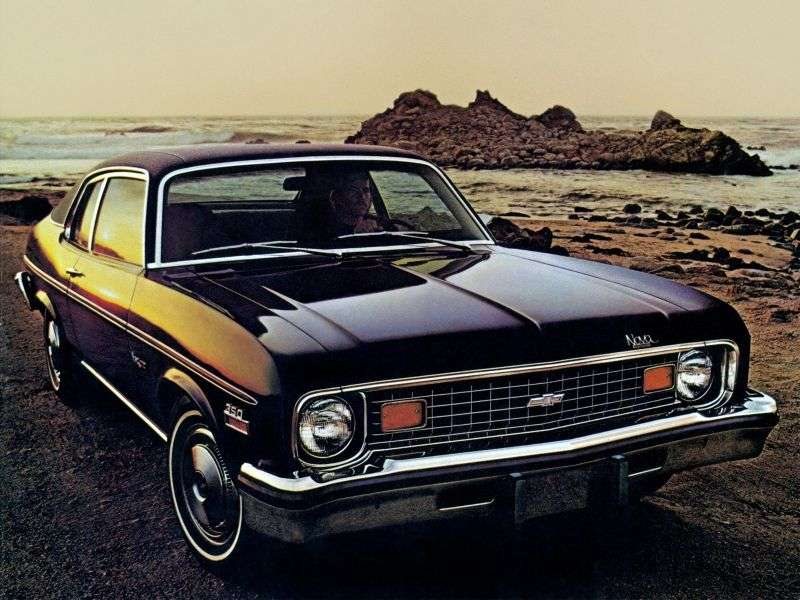 Chevrolet Nova 3rd generation [3rd restyling] coupe 5.7 MT (1973–1974)