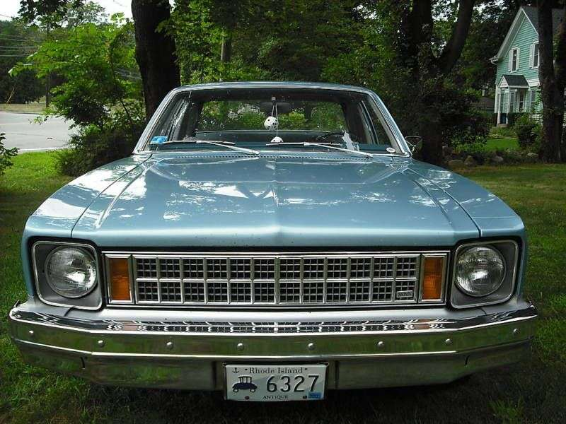 Chevrolet Nova 4th generation [restyling] coupe 2 bit. 4.1 MT (1977–1978)