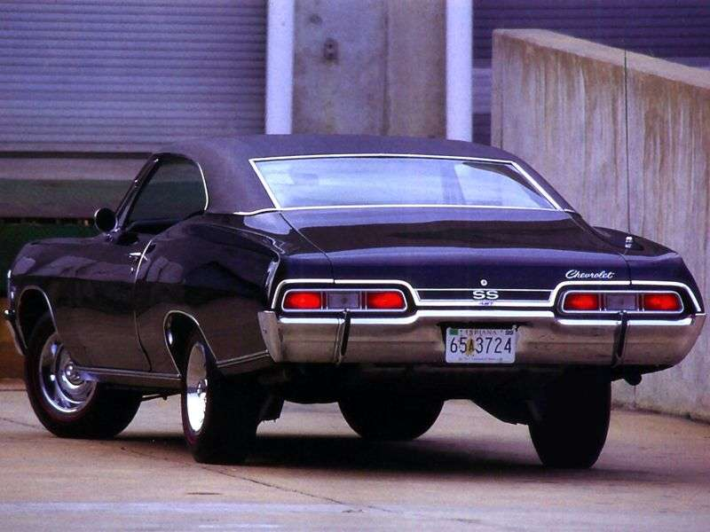 Chevrolet Impala 4th generation [2nd restyling] coupe 4.1 Powerglide (1967–1967)