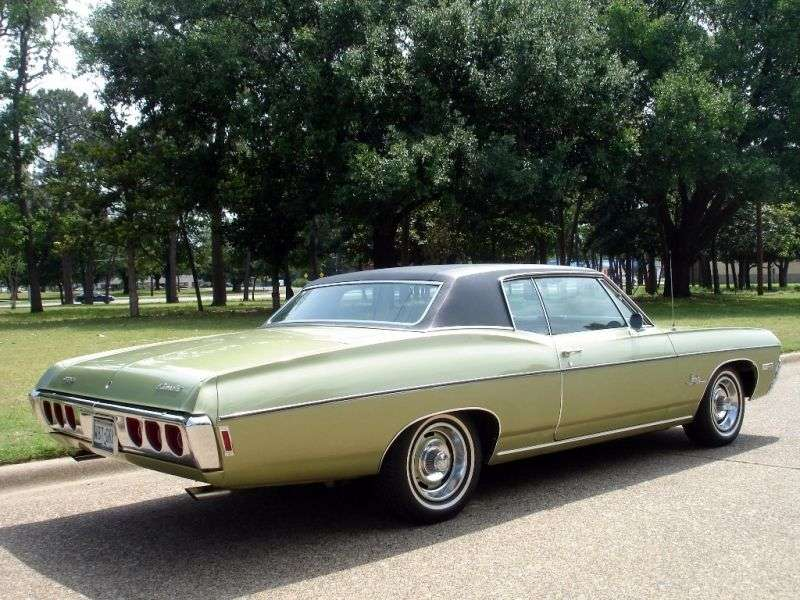 Chevrolet Impala 4th generation [3rd restyling] Custom Coupe 5.0 3MT (1968–1968)