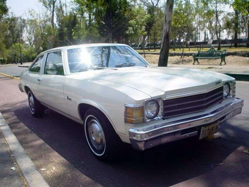 Chevrolet Nova 4th generation [3rd restyling] Concours liftback 5.7 Turbo Hydra Matic (1978–1978)
