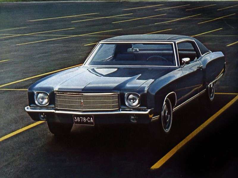 Chevrolet Monte Carlo 1st generation coupe 5.7 Turbo Hydra Matic (1970–1970)
